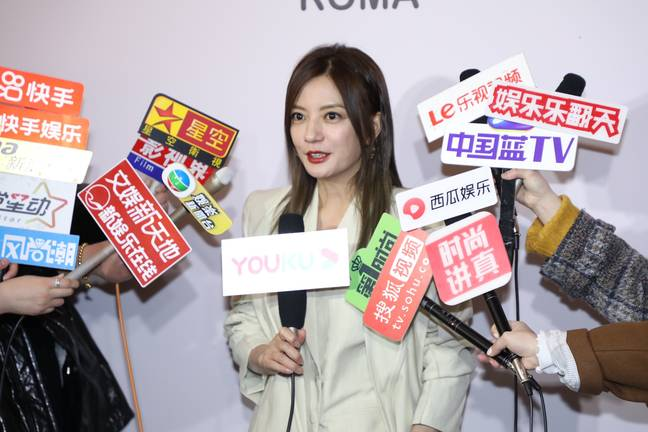 January 12, 2021, Shanghai: Zhao Wei attends FENDI event in Shanghai, China, 8 January 2021. -ChinaImages/Zuma Press/PA Images