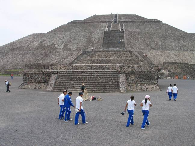 Pyramid of the Sun (PA Images)