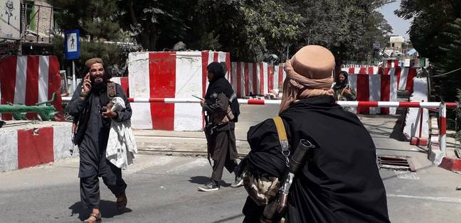 Nine Afghan provinces are under the Taliban's control. (PA Images)