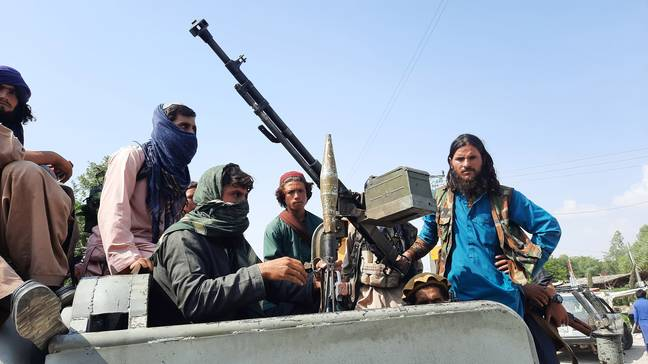 The Taliban has took control of Afghanistan. (PA Images)