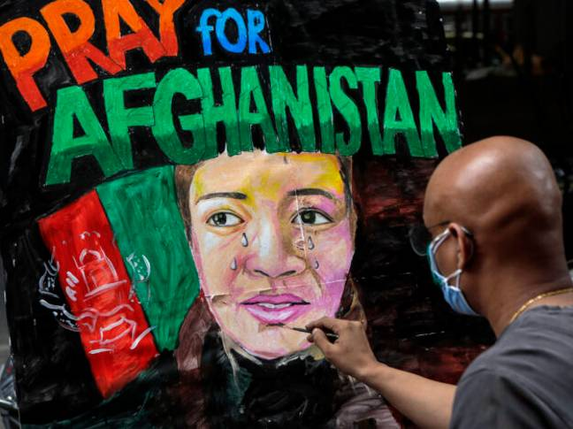 Pray for Afghanistan (PA Images)