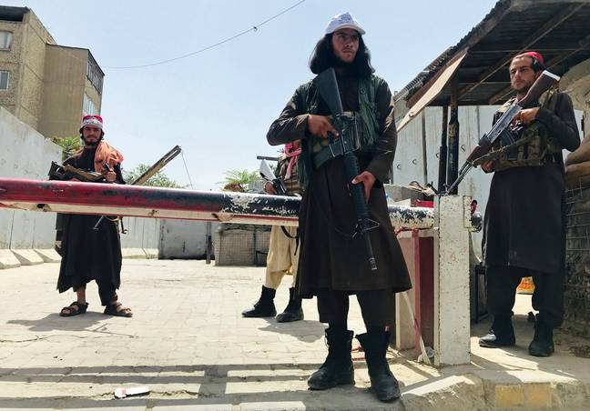 Taliban fighters in Afghanistan. (PA Images)