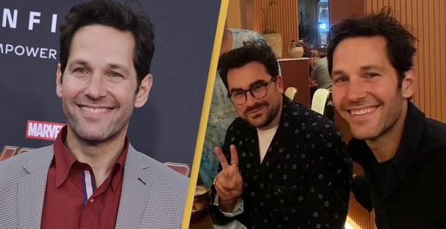 Paul Rudd Was Spotted Having Dinner With Daniel Levy And Everyone Made The Same Joke