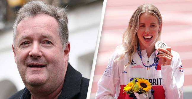 Piers Morgan Forced Into Rare Apology After Being Owned By Medalist Keely Hodgkinson