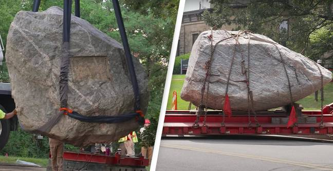 University Of Wisconsin Removes Boulder Seen As Racist Symbol