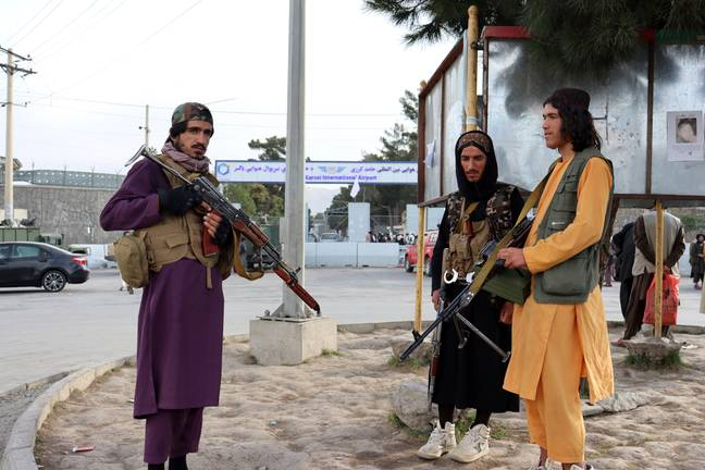 Taliban soldiers (PA Images)