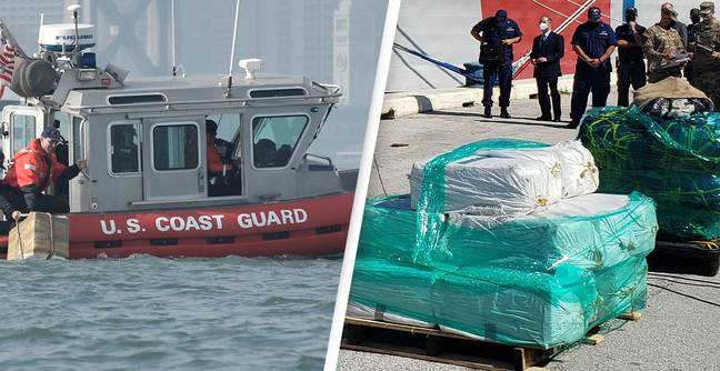 US Coast Guard Offloads Largest Haul Of Cocaine And Marijuana In Its 231-Year History