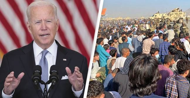 Biden's Approval Rating Slumps Seven Points To Lowest Level Yet Following Afghanistan Exit