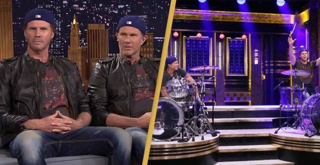 Will Ferrell And Chad Smith Drum Off Resurfaces And People Still Can't Tell Them Apart