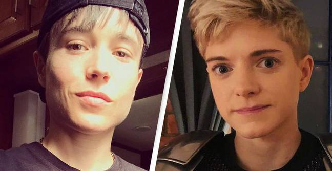 Elliot Page Gets Matching Tattoo With Mae Martin