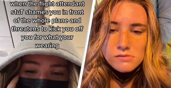 Girl Says Flight Attendant 'Threatened To Kick Her Off' Plane For Wearing Completely Normal Outfit