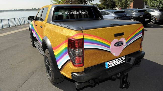Ford's 'Very Gay Raptor' (Ford)
