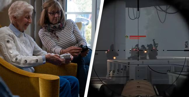70-Year-Old Gran Takes Up Xbox To Connect With Grandkids During Pandemic