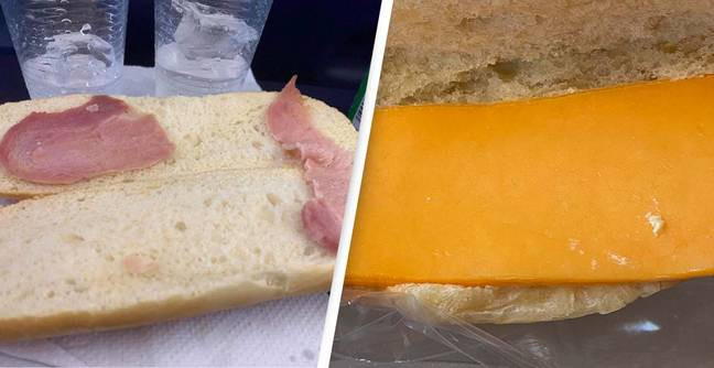 Vile Bacon Sandwich Picture Prompts People To Share Their Traumatic Airplane Food Experiences