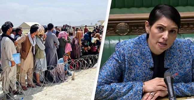 Afghanistan: UK 'Can Not Accommodate 20,000 People In One Go', Priti Patel Says