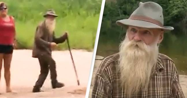 81-Year-Old Forced From His Cabin After Living In Woods For 30 Years