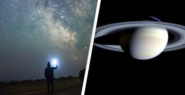Saturn Will Be Visible To The Naked Eye Tonight As It Reaches Closest Point To Earth