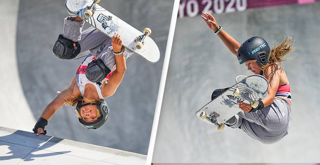 Team GB's Youngest-Ever Olympian Wins Britain's First Skateboarding Medal