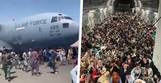 640 Afghan Refugees Cram On Cargo Ship Designed To Carry 150 People