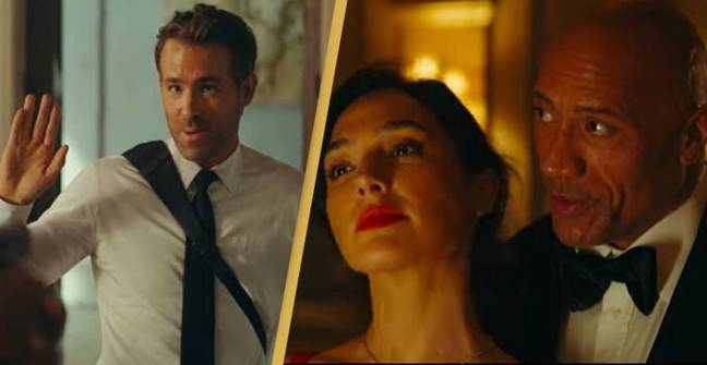 Red Notice Trailer Sees Ryan Reynolds, The Rock And Gal Gadot In Netflix Action Thriller