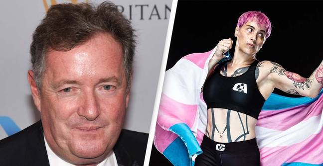 Piers Morgan Blasts MMA Match Which Saw Transgender Fighter 'Beat Up A Woman On TV'