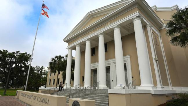 Florida Supreme Court building in Tallahassee (Alamy)
