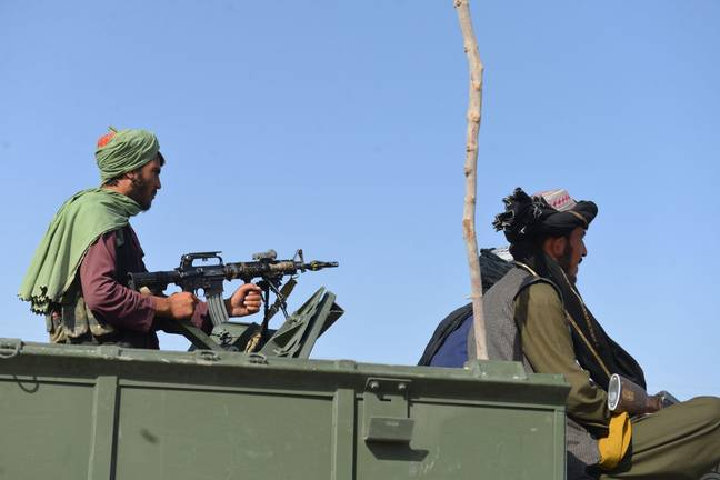 Some Taliban fighters aren't happy with their new lives. (Alamy)
