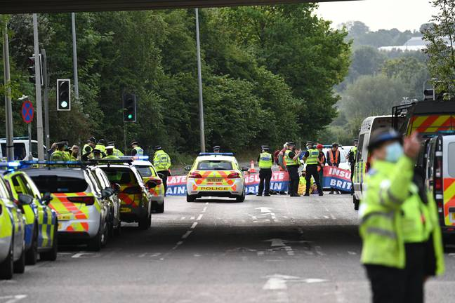 Furious Motorist Confronts Protesters As They Barricade M25 For Fourth Time