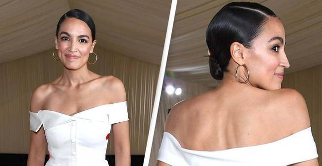 AOC Divides Opinion With 'Contradictory' Met Gala Dress