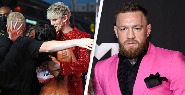 Conor Mcgregor Speaks Out After Brawl With Machine Gun Kelly At VMA's