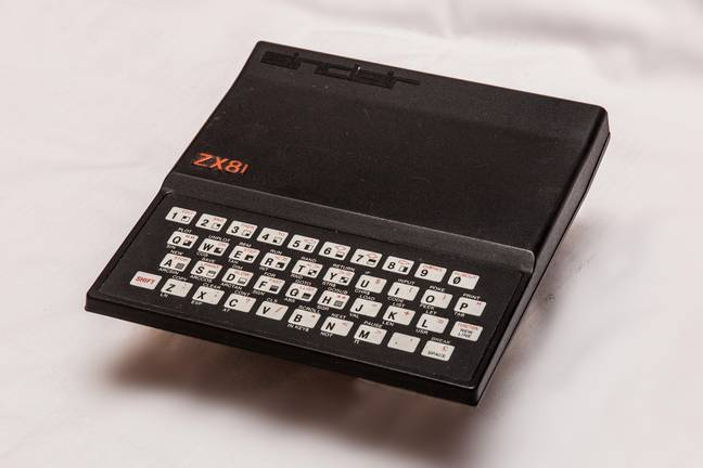 ZX81 Home computer by Sinclair Research