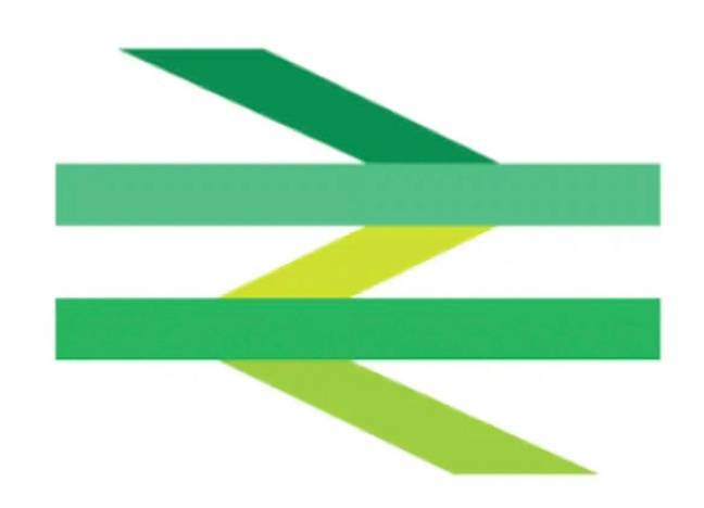 New train logo (Rail Delivery Group)