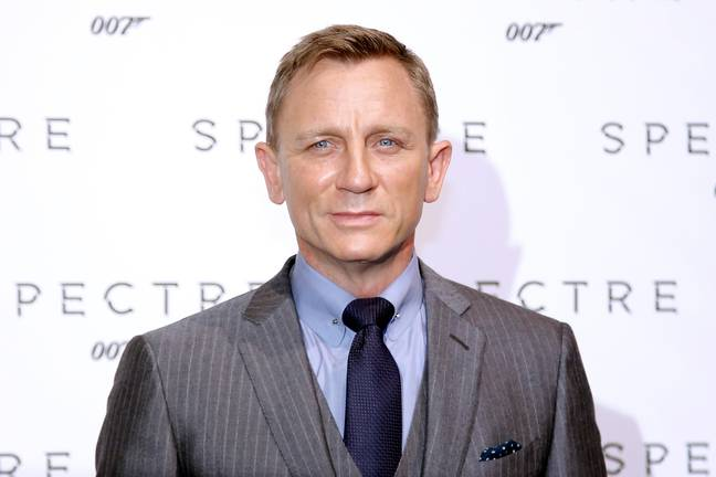 Daniel Craig Says 'He's More Naked Than The Women' In No Time To Die (Alamy)