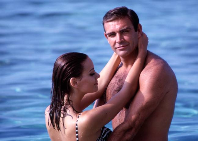 Sean Connery and Claudine Auger - (Phillip Harrington/Alamy)