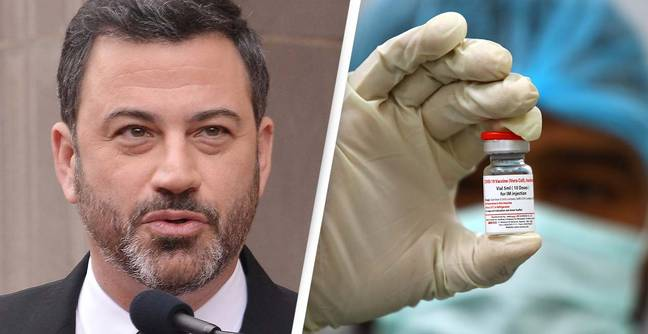 Jimmy Kimmel Causes Outrage With Controversial Vaccine Remark In Late-Night Show Return