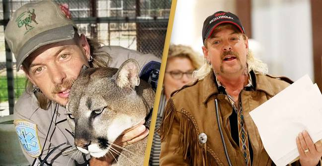 Joe Exotic Reveals Rare Picture Of Himself From Inside Prison