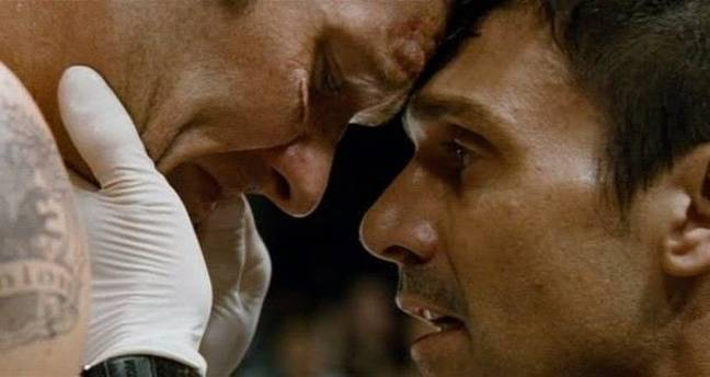 Joel Edgerton and Frank Grillo in Warrior. (Lionsgate)
