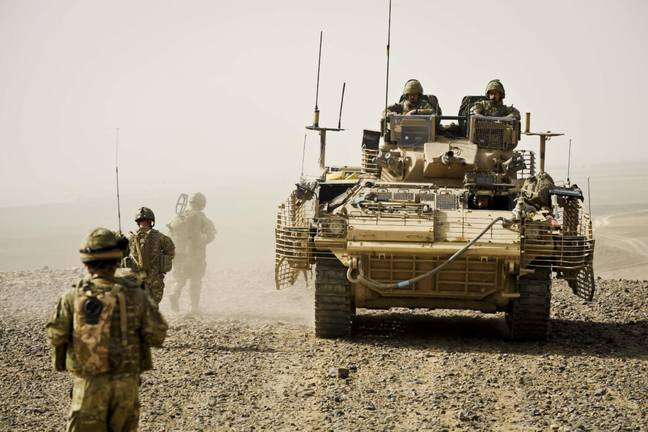 British forces deployed in Afghanistan (PA Images)