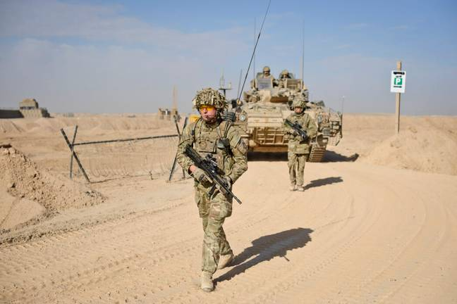 British soldiers in Afghanistan (PA Images)