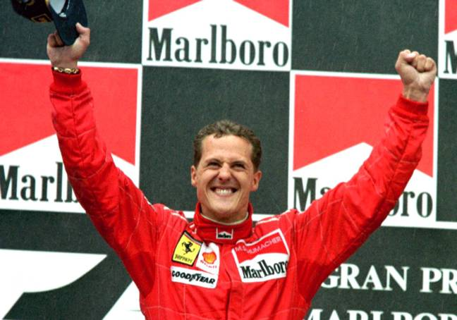 Michael Schumacher is on the mend. (PA Images)