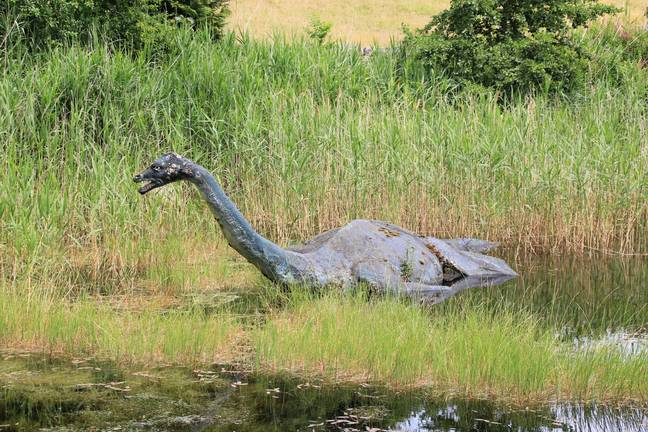 Loch Ness Monster. (PA Images)
