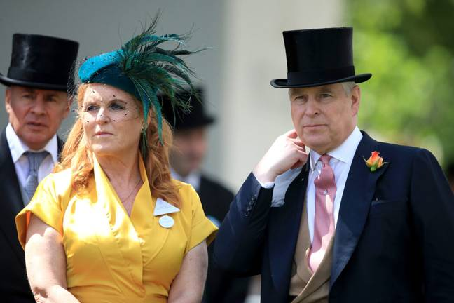 Sarah Ferguson and Prince Andrew (PA Images)