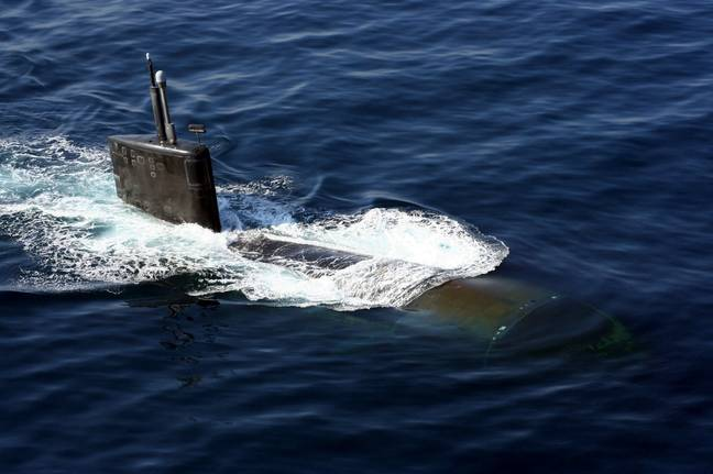 The U.S. Navy Los Angeles-class nuclear-powered attack submarine (PA Images)