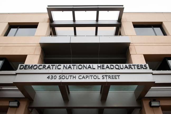 A general view of the Democratic National Committee Headquarters in Washington, D.C. (PA Images)