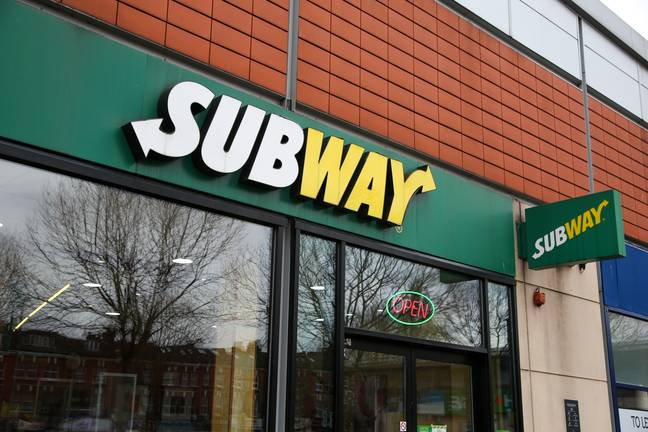 A branch of Subway in London -SOPA Images/SIPA USA/PA Images