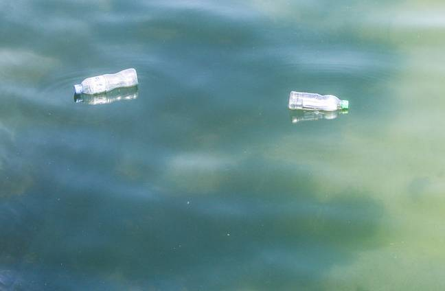 """Palestinian children release plastic bottles after writing messages that says """"It is our right to live in peace"""". At the port of Gaza City, children inserted messages inside plastic bottles and released them into the sea so they can """"reach the world"""" one children says -SOPA Images/SIPA USA/PA Images"""