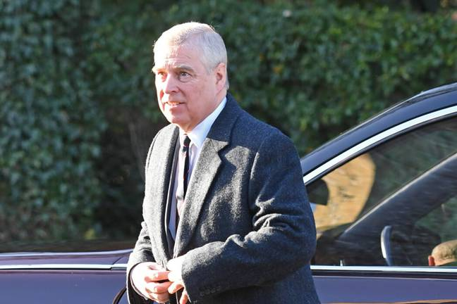 Prince Andrew. (PA Images)