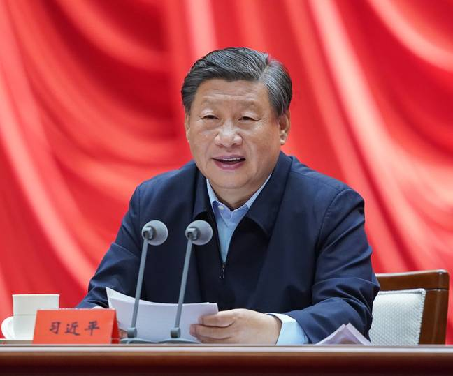 Party leader Xi Jinping (PA)