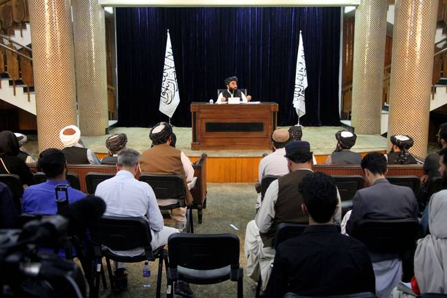 The Taliban government isn't as inclusive as indicated. (PA Images)