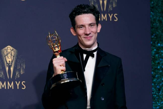 Josh O'Connor won for his role in The Crown (PA Images)